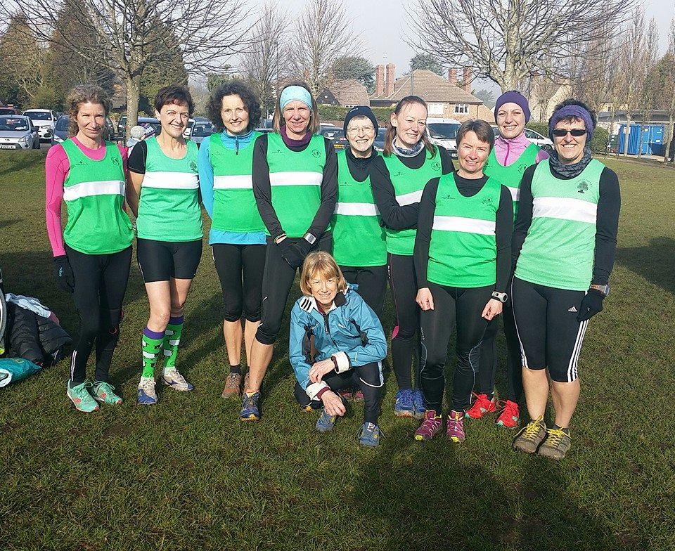 Blaise Castle Ladies Team