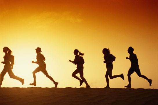 This image has an empty alt attribute; its file name is summer_running.jpg